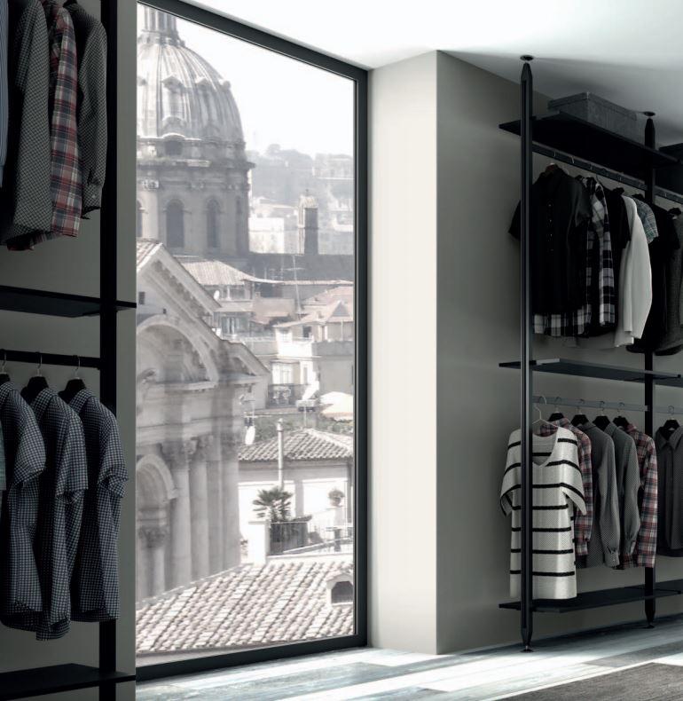 Модульная гардеробная система STILI от Volpato