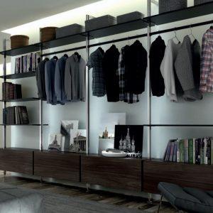 Универсальная гардеробная система STILI Volpato